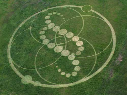 Huge crop circle formation discovered in south korea first to be crop circle korea 1 publicscrutiny Choice Image