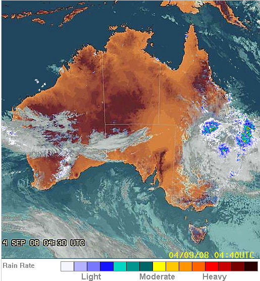 Australia rain deluges southeast queensland coastal areas earth changes - Meteorology bureau australia ...