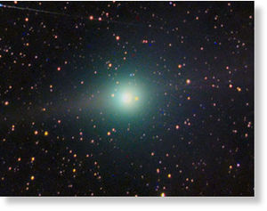Comet Lulin on 23 January
