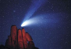 Comet Overhead