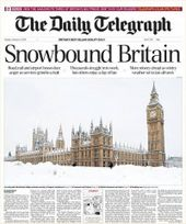 Snowbound Britain 2009