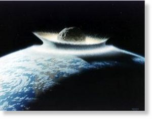 asteroid would effectively sterilize the planet
