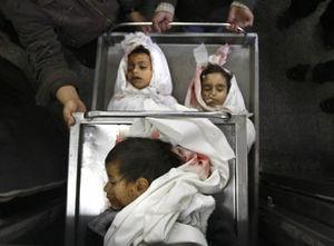 dead palestinian babies