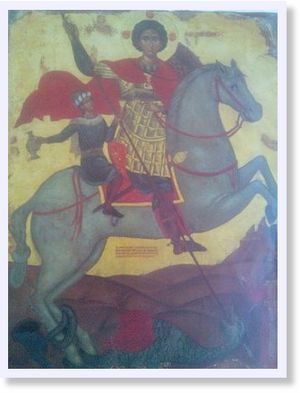 Saint George the Dragon Slayer