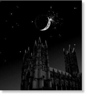 Gervase of Canterbury - Lunar Impact