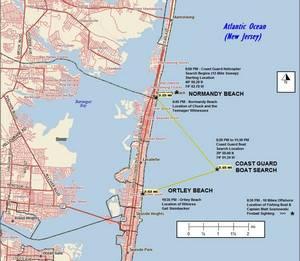 Normady beach map 1