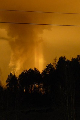 explosion in Siberia