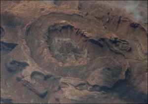 Utah crater