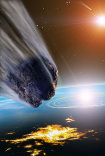 Meteorites, Asteroids, and Comets: Damages, Disasters