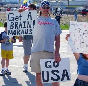 Pro-War Moron