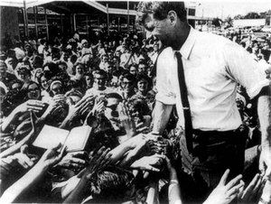 RFK and crowd
