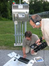Security apparatus that captured video of the meteor