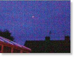 Fireball over England
