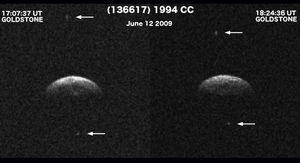 Near-Earth asteroid 1994 CC