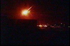Fireball over Utah