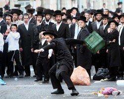 Haredim Protest