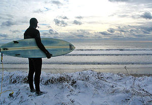 surf in snow