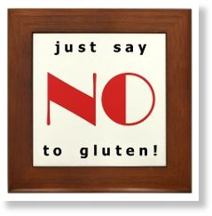 say no to gluten