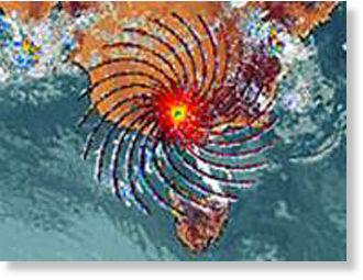 Australia bureau of meteorology images show mysterious for Bureau meteorology