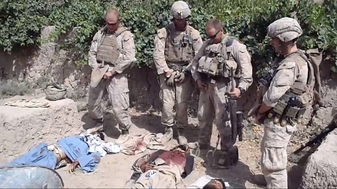 Bodies dead us soldiers