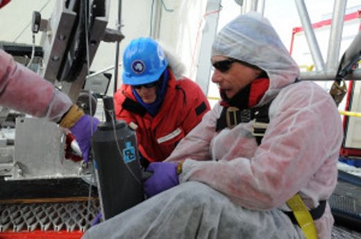 Viable microbial ecosystems 800 meters beneath Antarctic ice sheet