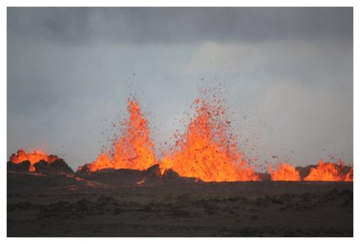 Iceland Lava Fountains