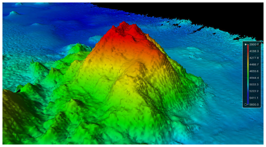 Extinct underwater volcano discovered beneath Pacific ... Pacific Ocean Underwater Volcanoes