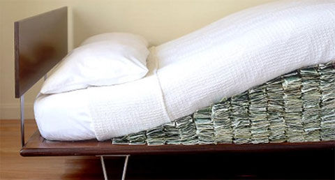 money mattress