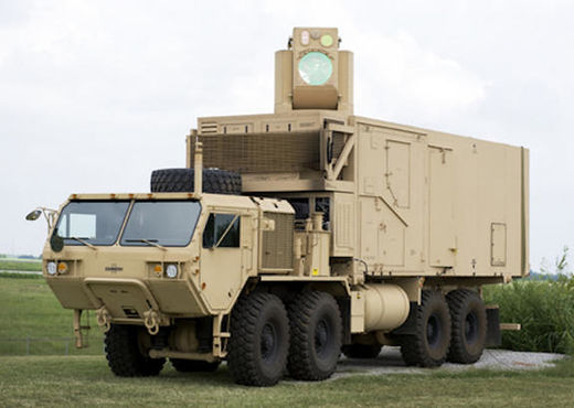 US Military and Boeing develop 'Hel MD', a high powered laser to shoot down drones