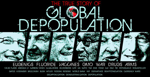 Vaccines and depopulation experiments
