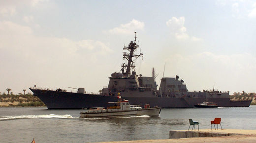 Navy removes destroyer's top three commanding officers mid-deployment