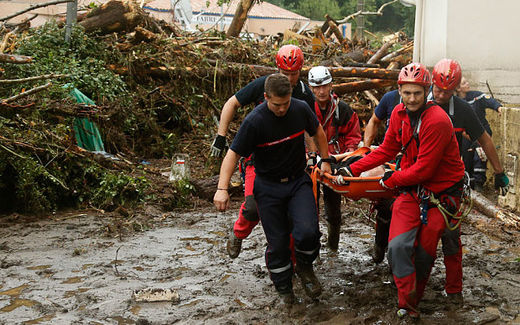 Four die as flash flood sweeps through Southern French campsite