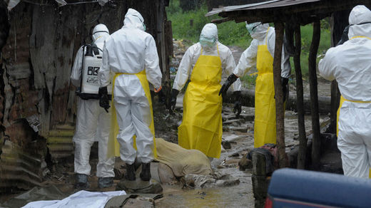 Ebola health team of eight brutally killed in Guinea as suspicion reigns among locals