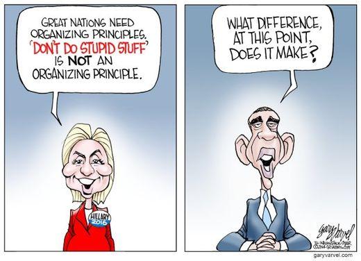 Obama S Don T Do Stupid Stuff Turned Upside Down