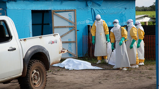All Sierra Leone's six-million population are confined to homes in desperate bid to contain Ebola