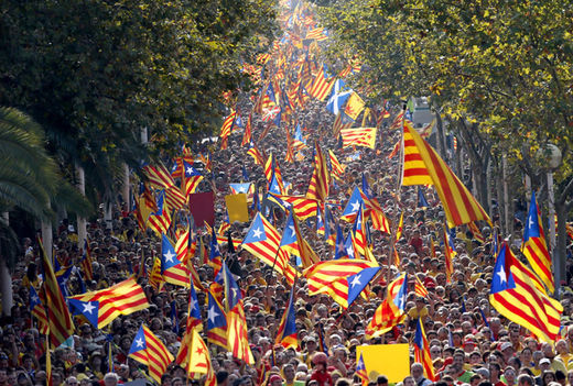 Catalan demonstration