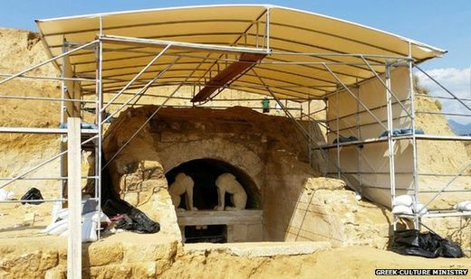 Alexander-era Amphipolis tomb gives needed hope to Greeks