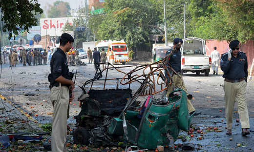 Three killed in Peshawar, Pakistan attack
