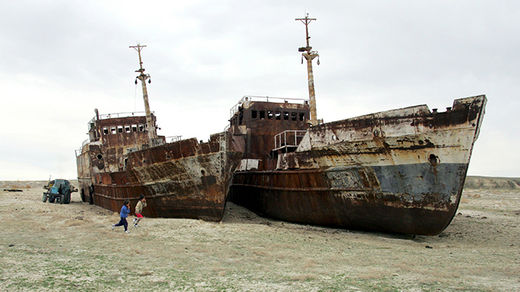 The demise and resurrection of Kazakhstan's Aral Sea