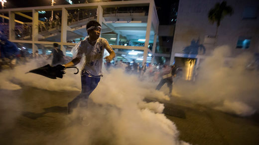Chinese 'Occupy Central' movement: U.S. 'promoting democracy' in Hong Kong