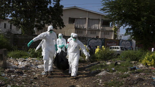 ebola dead burial