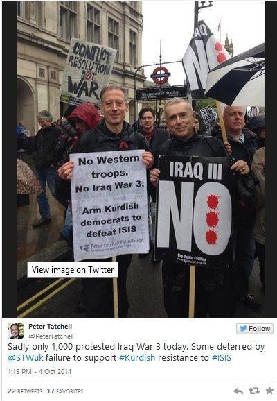 UK ISIS anti-war protests 3