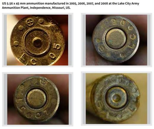 ISIS US ammunition