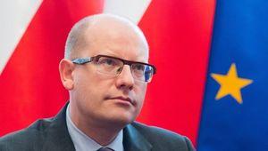 Czech Prime Minister Bohuslav Sobotka