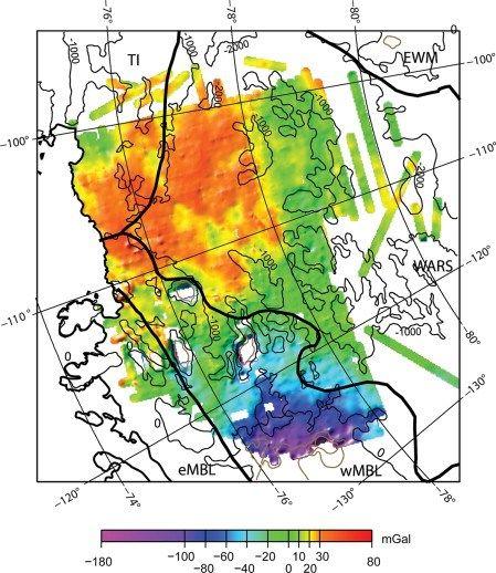 Geothermal heat flux West antarctic