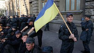 ukraine soldiers protest