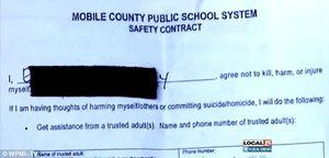elementary school contract