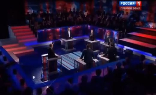 "How ""America's number one enemy"" sees the situation: Russian TV chat show on U.S. sanctions (EN SUBS)"