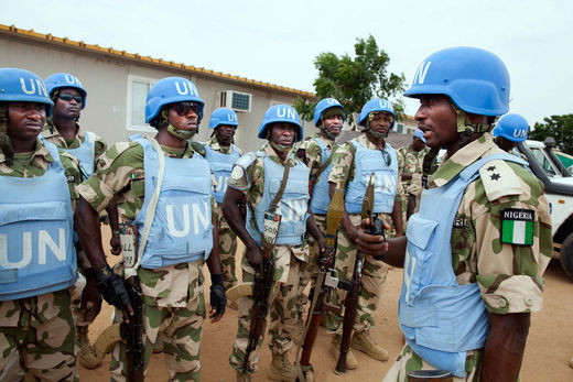 UNAMID peacekeepers