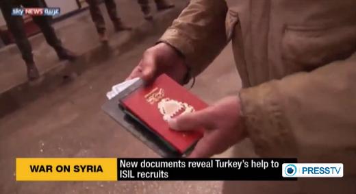 ISIS passports
